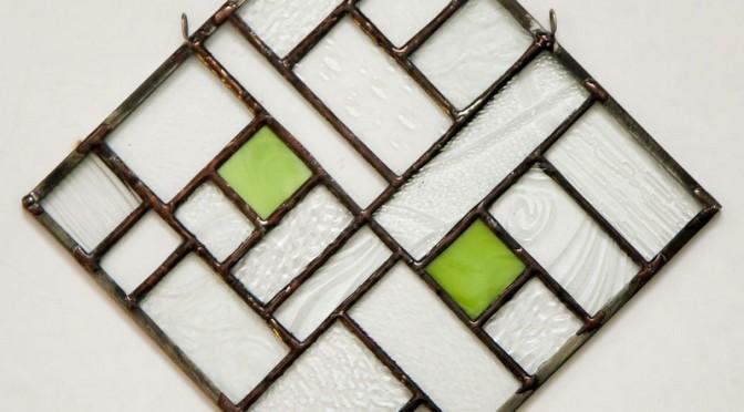 Green Diamond Suncatcher