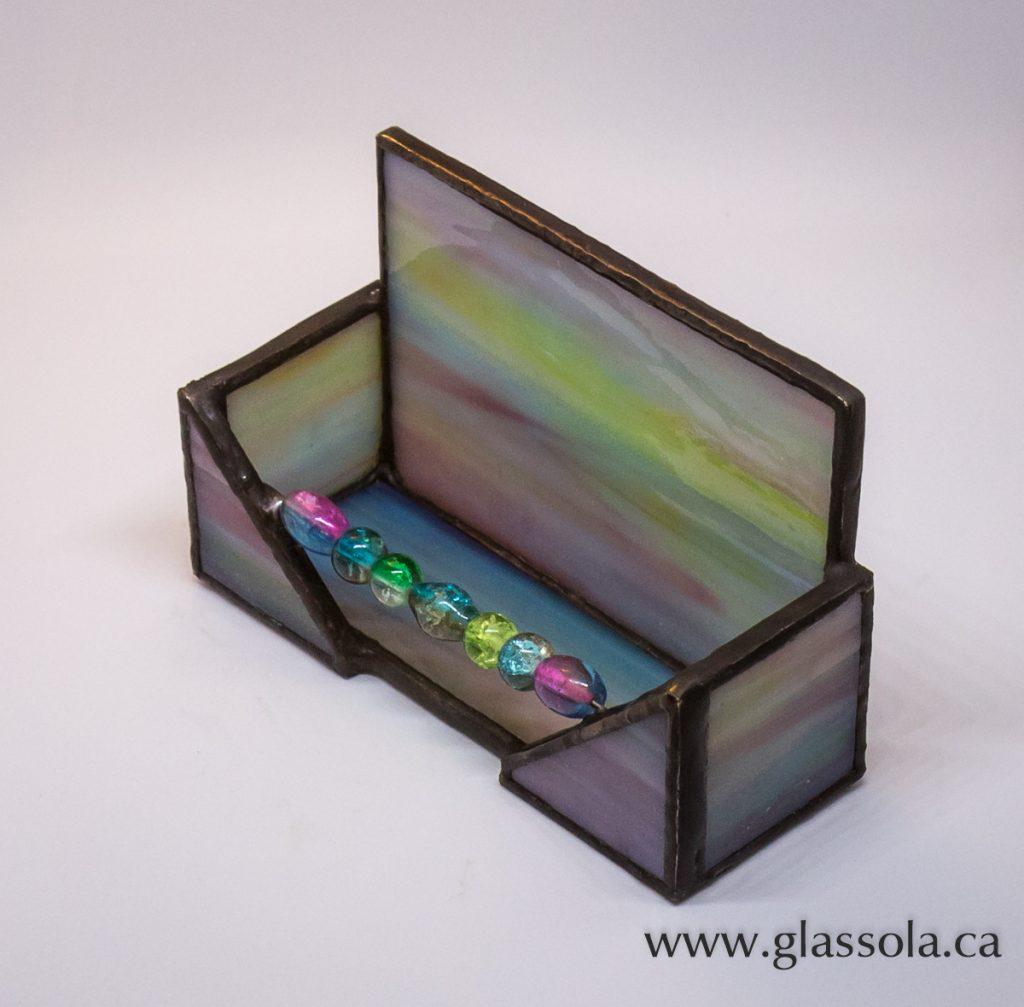 Pastel Business Card Holder – Glassola